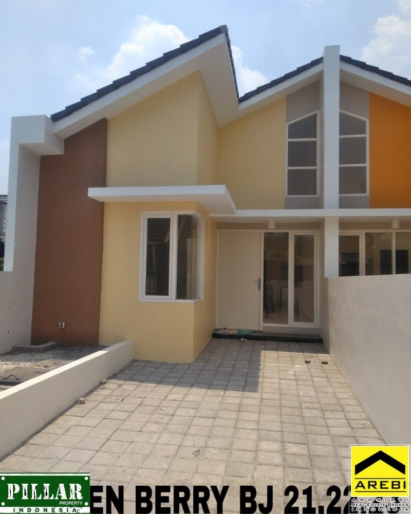 Rumah Siap Huni Golden Berry Regency type Sakura Plus
